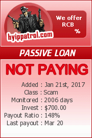 hyippatrol.com - hyip passive loan