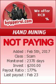 hyippatrol.com - hyip hand mining