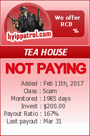 hyippatrol.com - hyip tea house inc