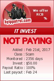 ссылка на мониторинг http://hyippatrol.com/?a=details&lid=2444