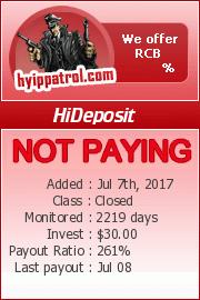 ссылка на мониторинг http://hyippatrol.com/?a=details&lid=2631