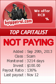 hyippatrol.com - hyip top capitalist